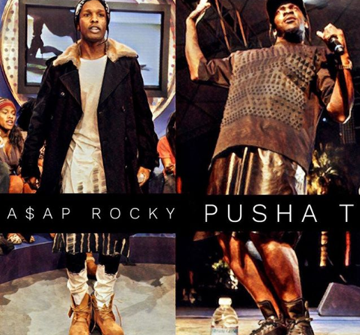 A$AP Rocky VS Pusha T