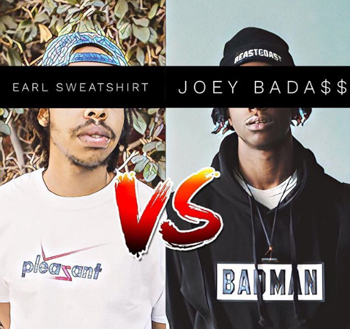 Earl Sweatshirt VS Joey Bada$$