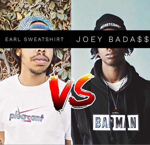 Earl Sweatshirt VS Joey Bada$$