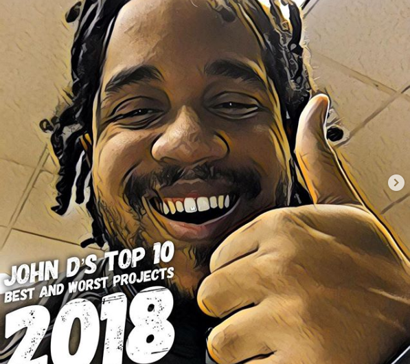 John D's Top/Bottom Projects 2018