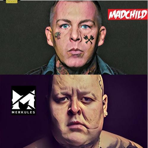 Madchild VS Merkules